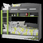 Кровать 2-х ярусная (УНИ)