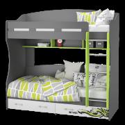 Кровать 2-х ярусная (УНИ)2