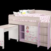 Кровать-чердак малый (УНИ) -1-