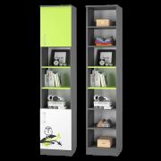 Шкаф для книг с двумя дверками