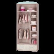 Шкаф для одежды с ящиком [внутреннее наполнение]