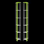 Секция угловая с полками (УНИ)