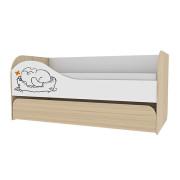 «Кот 900.1» Кровать двухуровневая