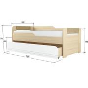 «Стиль 900.1» Кровать 2-уровневая Кофе с молоком NEW