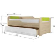 «Стиль 900.1» Кровать 2-уровневая Лайм NEW