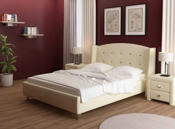 Кровать мягка Каролина