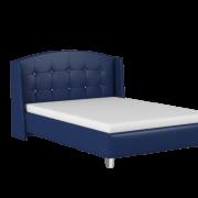 кровать каролина синяя