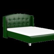 кровать каролина зеленая