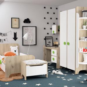 Детская комната Мини дуб серый+ белый