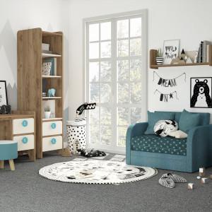 Детская комната Мини сатин+дуб табачный