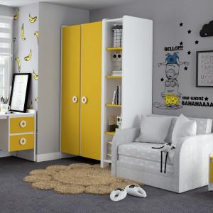 Детская комната Мини солнечный свет + белый